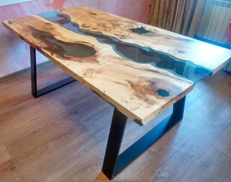 why-tables-wood-dining-table-with-metal-legs-live-edge-river-table-blue-valley